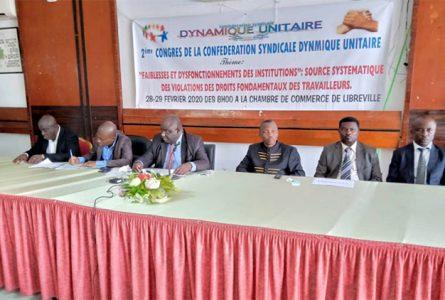Ouverture des travaux du deuxième congrès ordinaire de la Dynamique unitaire. © Gabonreview