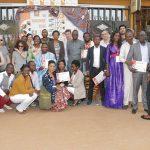 Les auteurs de la déclaration de Yaoundé. © D.R.
