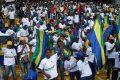 La paix gagne une place au Gabon. ©  D.R.