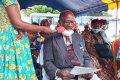 Gilbert Avika livrant son mot de circonstance. © Gabonreview