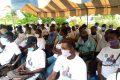 Les membres de l'UJPDG  de la Nyanga. © Gabonreview