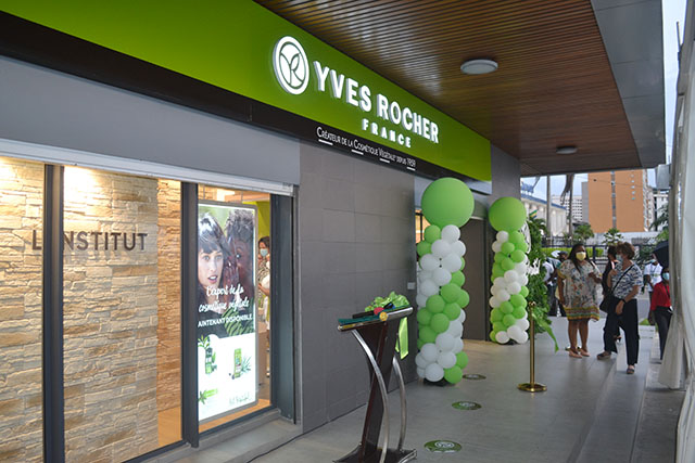 Gabon: Yves Rocher s'installe à Libreville