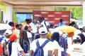 La Société des brasseries du Gabon (Sobraga) etl'ONG RGEDDont collecté, le 17 décembre à l'occasion du «Jeudi vert»,250 000 litres de déchets sur les plages de la Pointe Denis. © Sobraga