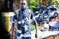 Le brigadier de police Ulda Mbadinga a été retrouvé mort, samedi dernier, dans la broussaille des arrières-rues du PK9. © Gabon Matin