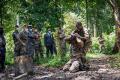 Le ministre de la Défense nationale, Michael Moussa Adamo, était, le 23 avril dernier, au Centre d'entrainement au combat en forêt du Gabon (CEC FoGa). © Communication EFG