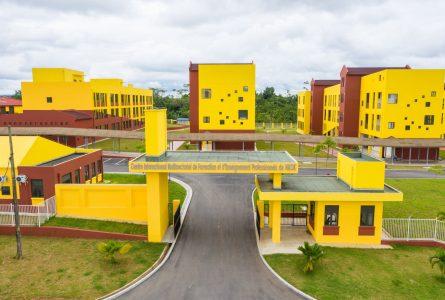 Vue du Centre international multisectoriel de formation et d'enseignement professionnels de Nkok. © Communication présidentielle