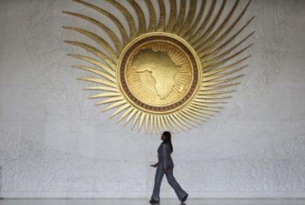 L'ambition du CPS-UA devrait être de dépasser les seuls enjeux sécuritaires sous-régionaux et rendre le Tchad aux Tchadiens. (Ici, le hall du siège de l'Union africaine, à Addis-Abeba, en 2016). © Pan Siwei/Xinhua-Rea