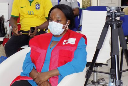 Véronique Tsakoura le 18 juin. © Gabonreview