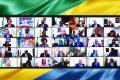 Le Conseil des ministres en visioconférence de ce lundi 06 septembre 2021, présidé par le Président Ali Bongo Ondimba. ©  Gabonreview/Facebook/PresidenceGabon