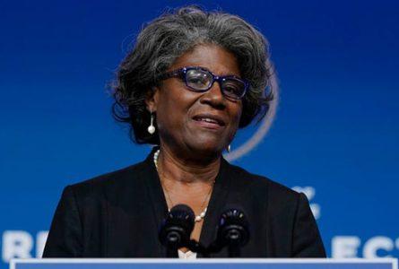 Linda Thomas-Greenfield est diplomate de carrière. © D.R.