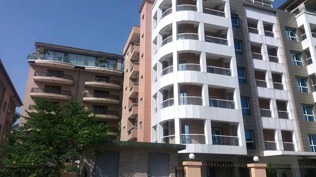 Une vue des immeubles pressentis pour abriter les services du ministère des Affaires étrangères. © D.R.