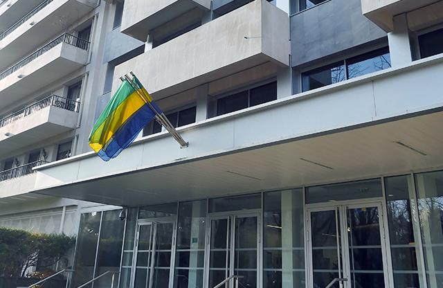 L'ambassade du Gabon en France. © D.R.