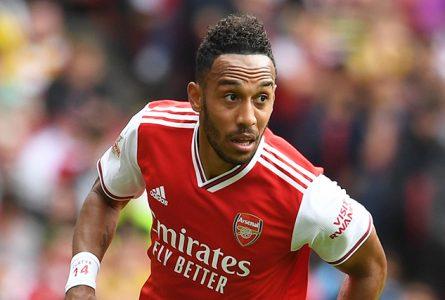 Pierre-Emerick Aubameyang et Arsenal veulent se qualifier pour la prochaine Ligue des champions. © David Price/Arsenal FC/Getty Images