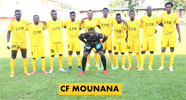 Le club gabonais CF Mounana. © Linaf.net