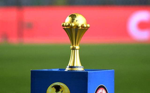 Le trophée de la Coupe d'Afrique des nations. © Lesoco.ma