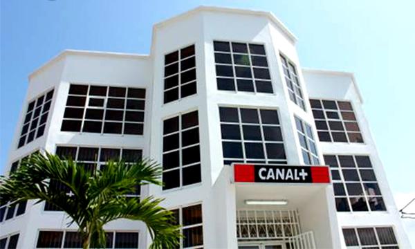 Le siège de Canal+ au Gabon. © annuem.com