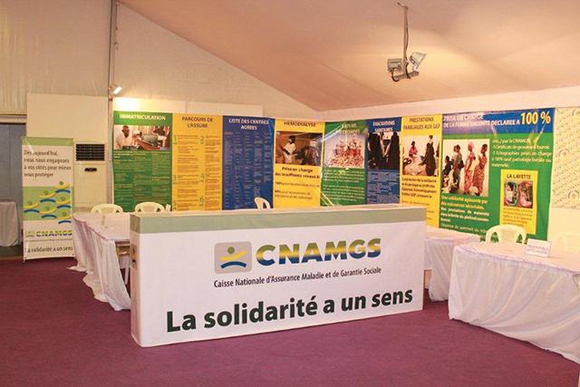 Le Sypharga réclame une ardoise de plus de milliards de francs CFA à la CNAMGS. © aho.afro.who.int