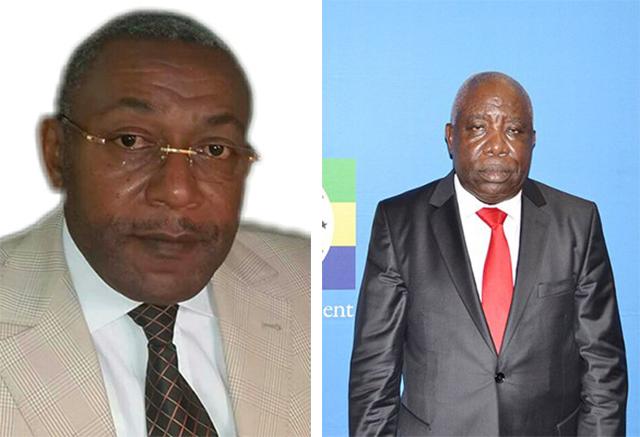 Eric Dodo Bounguendza (à gauche) et Mathieu Mboumba Nziengui piloteront la commission ad-hoc paritaire. © D.R.