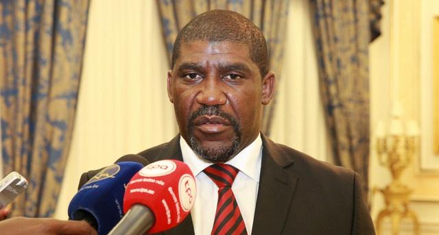 Ernest Mpouho Epigat, ministre de la Défense nationale. © portalangop.co.ao