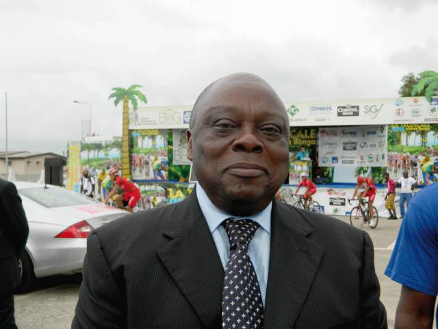 Michel Essonghe, en janvier 2014 à Port-Gentil. © Gabonreview