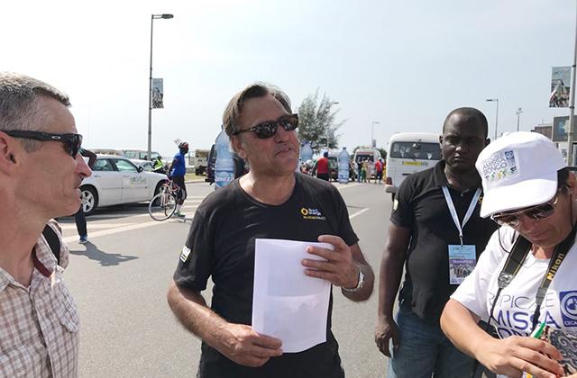 Jean-René Bernaudeau, le 5 mars 2017 à Libreville. © Gabonreview