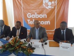Gabon-Télecom passe à l'orange-bleu