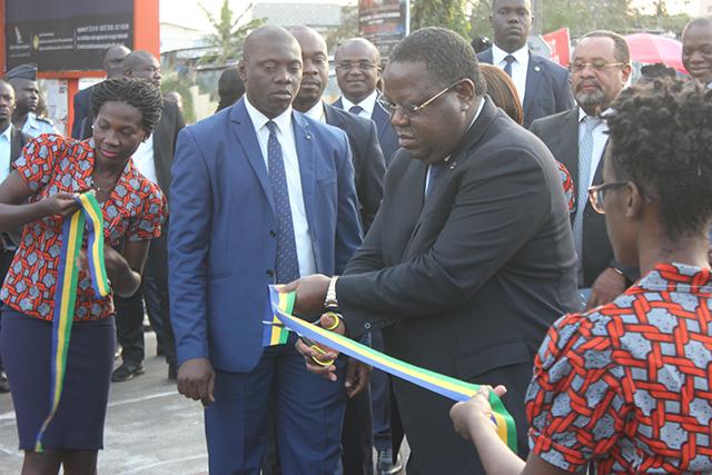 Emmanuel Issoze Ngondet, lançant officiellement la 2e édition du festival. © Gabonreview