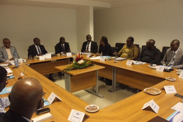 Les membres de la Confédération patronale gabonaise (CPG) et ceux des organisations sœurs. © Gabonreview