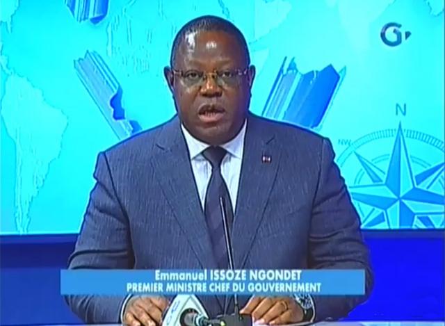 Emmanuel Issozé Ngondet, le 7 septembre 2017 sur Gabon Télévisions. © Gabonreview