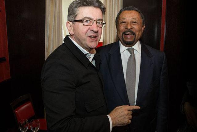 La France Insoumise, encourage toutes les parties prenantes de la classe politique, de la société́ civile et de la diaspora à répondre favorablement à l'appel de Jean Ping. © Kasia Wandycz / Paris Match