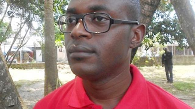 Anges Kévin Nzigou, avocat, président d'honneur du MJU. © D.R.