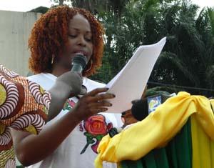 Me Paulette Oyane Ondo (société civile) - © François Ndjimbi/Gabonreview.com