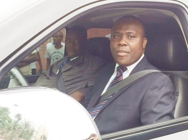 Mike Jocktane, le 19 juillet 2014 à Libreville. © Gabonreview