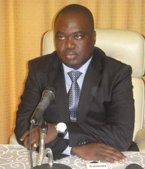 Dominique Guy Noël Nguiéno, ministre délégué auprès du ministre gabonais des Affaires étrangères