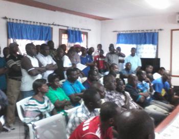 Vue partielle des délégués présents lors de l'Assemblée générale. © Gabonreview/Louis Mbourou