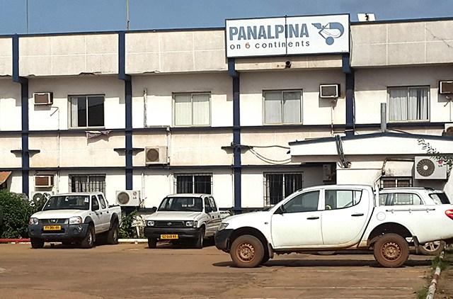 Le siège social de la société Panalpina à Port-Gentil, en mars 2017. © Gabonreview