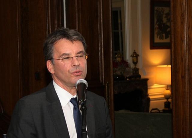 Philippe Autié, le tout prochain ambassadeur de France au Gabon. © Sofia