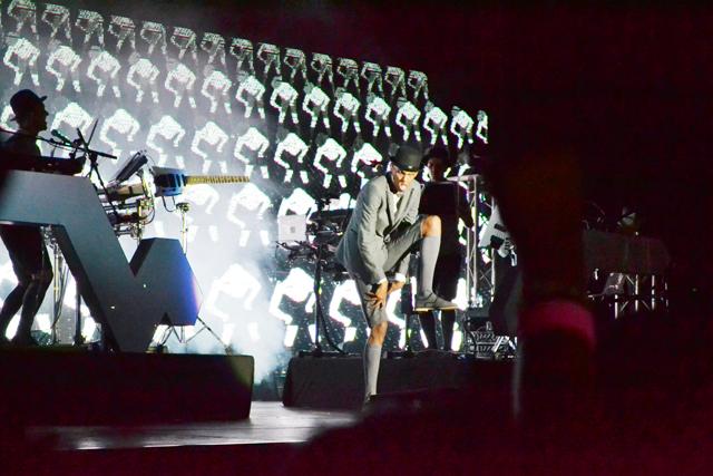 Scène du concert. © Gabonreview