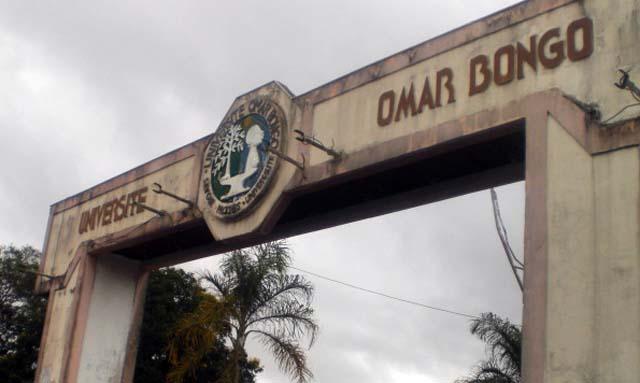 Université Omar Bongo au Gabon