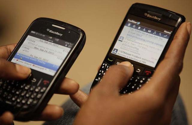 arL'usage du téléphone mobile, et de plus en plus souvent, du smartphone, booste le chiffre d'affaires de gabon Telecom - © D.R.