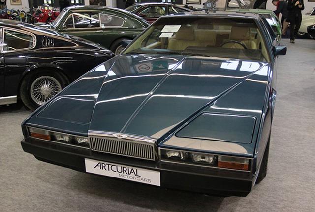 La fameuse Aston Martin Lagonda 1985 ayant appartenu à Omar Bongo». © cornette.auction.fr