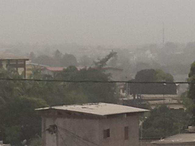 La brume sur Libreville. © Chamberland Moukouama