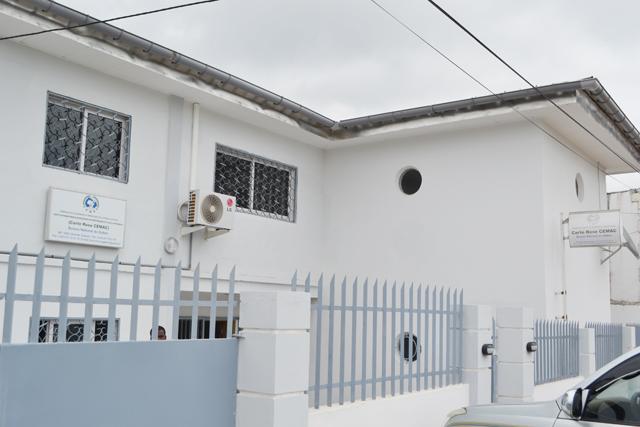 Le nouveau bureau gabonais de la Carte rose Cemac. © Gabonreview