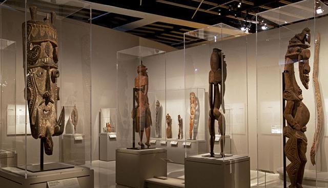 L'art du Sepik au Musée du Quai Branly du 27 octobre 2015 au 31 janvier 2016 (archives) © musée du Quai Branly