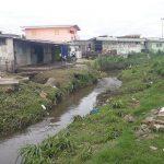 Une zone inondable de Libreville. © D.R.