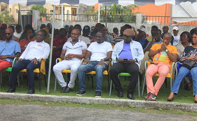 Des jeunes leadeurs de l'opposition et de la société civile gabonaises, le 24 novembre 2018, à Libreville. © Gabonreview