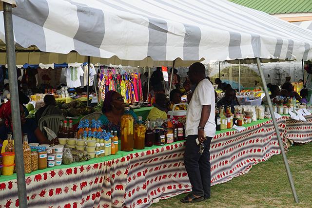La 3e édition du marché agricole et du made in Gabon ouvert le 25 août au 1er septembre 2018. © Gabonreview