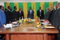 Discussion à Cotonou sur l'élection à la Commission de l'UA