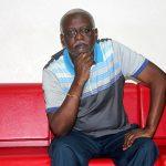Jean- Paul Moumbembe l'avocat du collectif Appel à agir. © Gabonreview