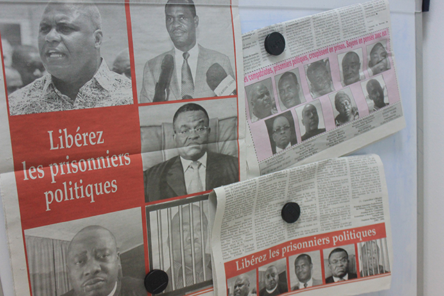 Personnalités de l'opposition gabonaises, considérées par certains médias comme des «prisonniers politiques». © Gabonreview